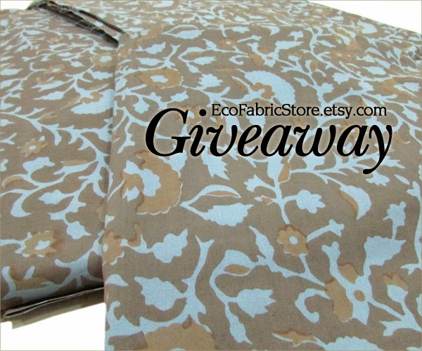 Giveaway by Eco Fabric Store
