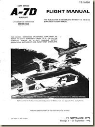 TO 1A-7D-1 (15 november 1971) Flight Manual_01