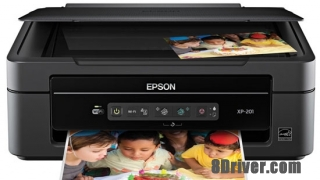 Download Epson XP-201 printers driver and installed guide