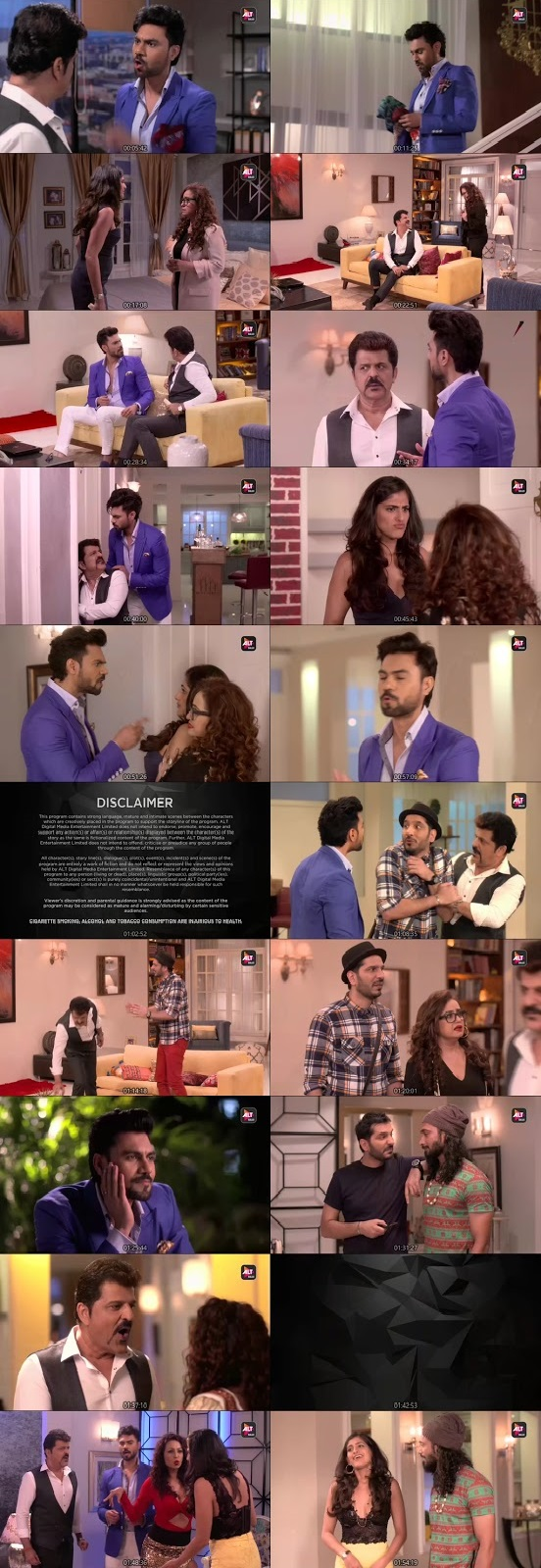 Screenshots Of Hindi Show Fourplay Season 01 2019 Complete - All Episodes 300MB 480P HD