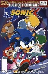 """Actualización 14/09/2018: Se agrega el numero 25 de Sonic X por Pablo_Av para The Tails Archive y La casita de Amy Rose. """"Los Sonic de Colores"""": ¡Es hora de combatir fuego con fuego ... o más precisamente, enfrentar erizos contra erizos! ¿Y qué podría ser peor que un doble malvado? ¿Qué tal cinco? ¡Los erizos abundan en este número 25 de Sonic X! ¡Y solo espera a ver lo que los malos han guardado para el final! ¡Los clones de Sonic causan estragos en Station Square!"""
