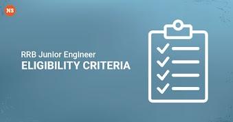 RRB JE Eligibility Criteria