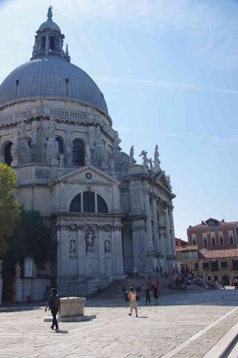 La basilique Santa Maria della Salute.