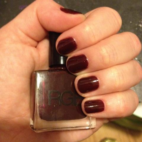 RGB, RGB nail polish, RGB Oxblood, nail, nails, nail polish, polish, lacquer, nail lacquer