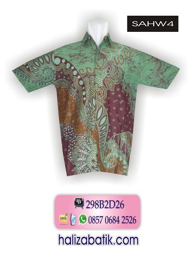 SAHW4 Model Baju Batik Terbaru, Jual Baju Batik, Desain Baju Batik, SAHW4