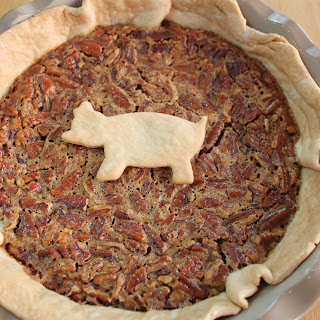 Southern Pecan Pie with Bacon