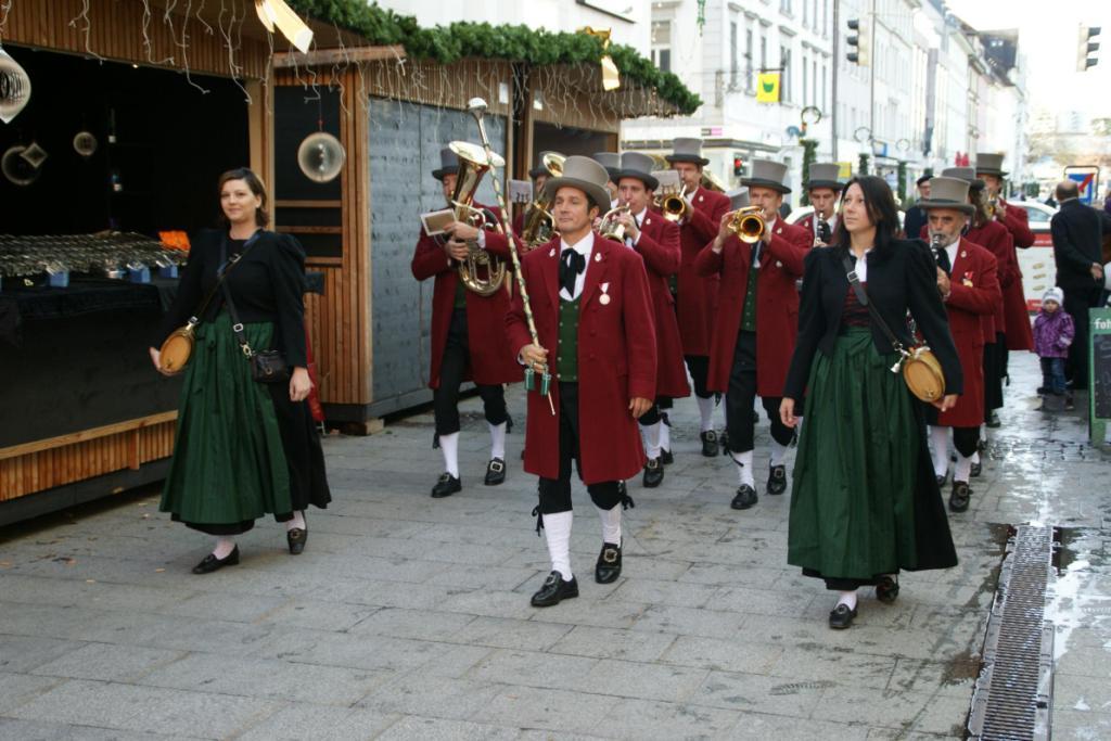 Weihnachtszauber in Bregenz am 20.11.2010