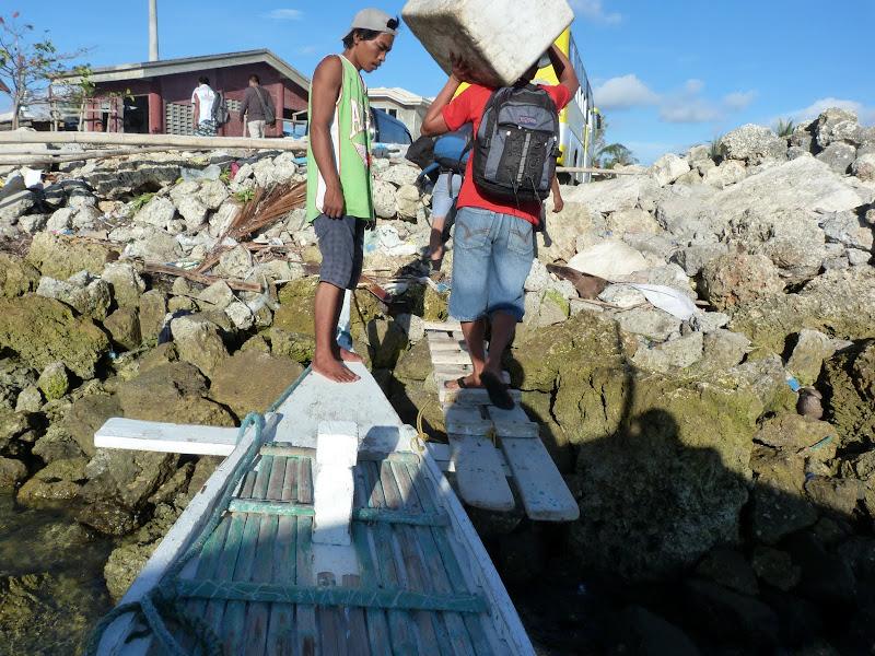 Débarquadère au port de Maya