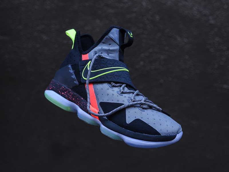 buy online b3f47 66d36 ... Additional Look at Nike LeBron XIV 14 Out of Nowhere ...