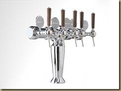 BRUXELLES 2 дорогая пивная колонна на 5 сортов пива
