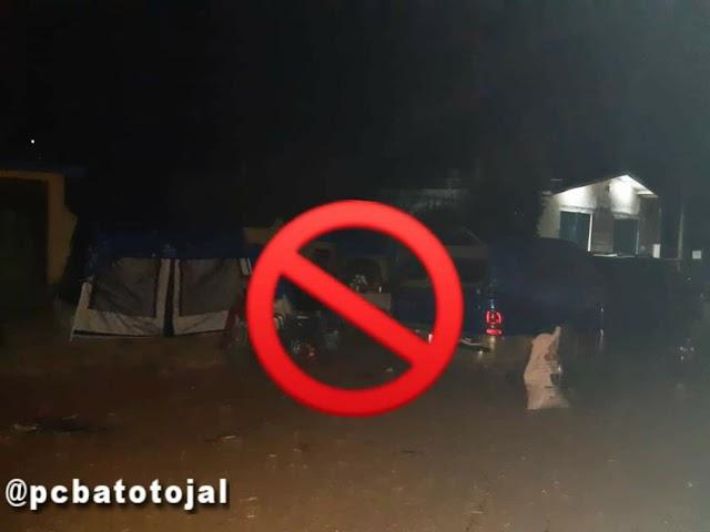Desmantelan campamento de peregrinos en Atotonilco