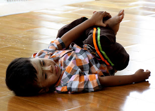 Photo: Year 2 Day 54 -  A Young Worshipper in the Temple