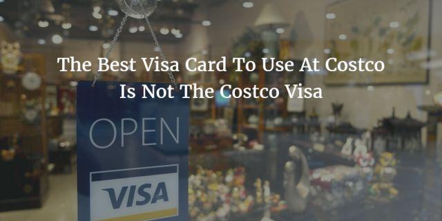Credit card at costco