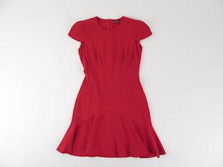 Alexander McQueen Sheath Dress With Cap Sleeve