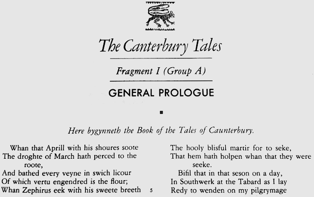 A Brief Study of Canterbury Tales Characters