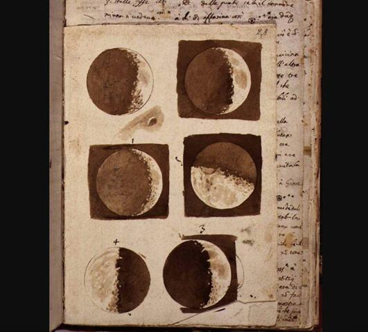 LA LUNA POR GALILEO