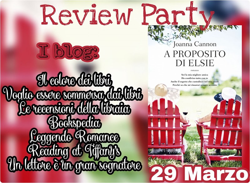 A proposito di Elsie review party