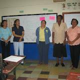 Provincia de Herrera - Yoselyn Chacón representante del MEDUCA, Doris Julio FREP, Bonifacia de Alfaro FREP, Zoraida Aizpurúa FREP.