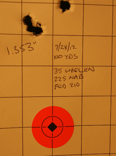 Decent morning at the range - The Lone Eagle Lodge