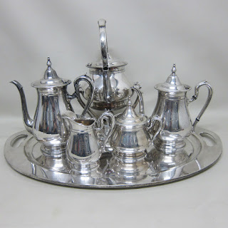 Reed & Barton 6 Piece Sterling Tea Set