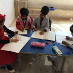Drawing and Coloring activity (Jr.KG. & Sr.KG.) 23-12-2016