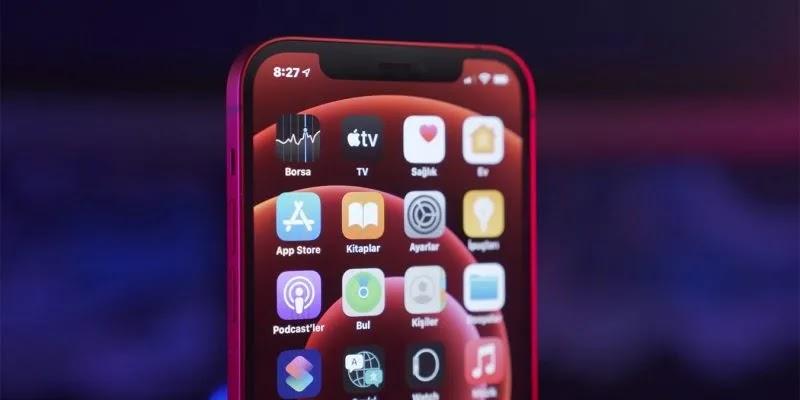 نسبة بطارية iPhone 12