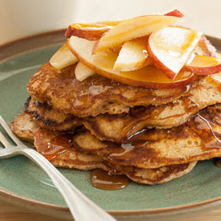 Gluten-Free Apple Walnut Pancakes