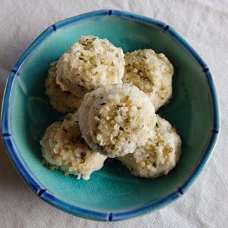 Coconut Ginger Cookies.