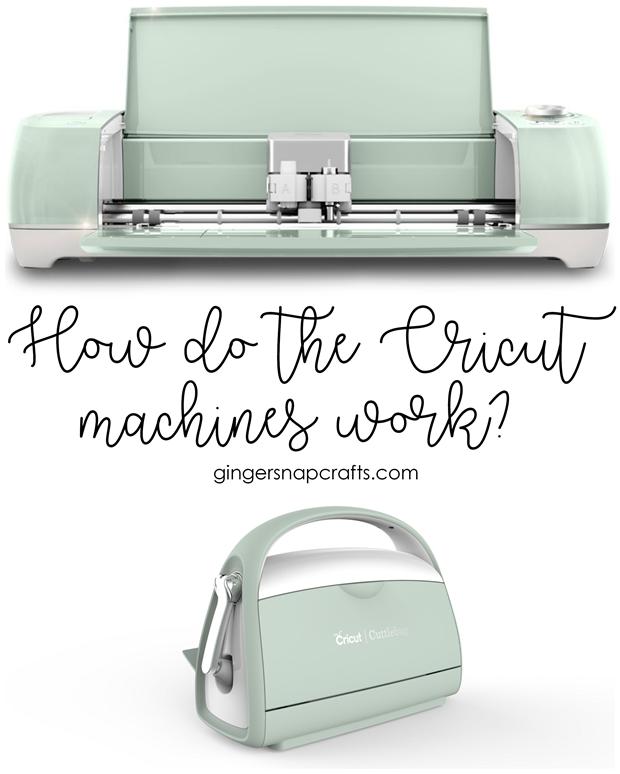 Cricut Question Series How Do the Cricut Machines Work