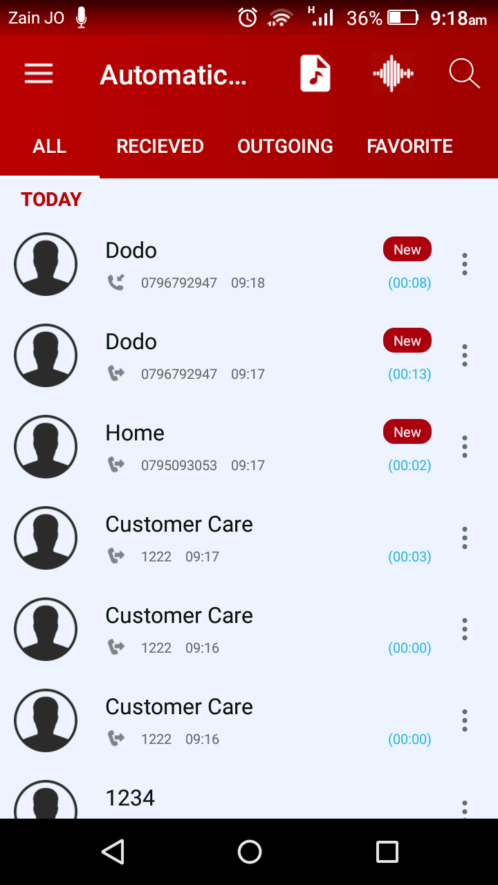 Automatic Call Recorder Pro 2019 - ACR Tool.(GOLD) Screenshot 4
