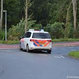 Aanrijding twee auto's N367 thv Maaltijdservice - Foto's Teunis Streunding