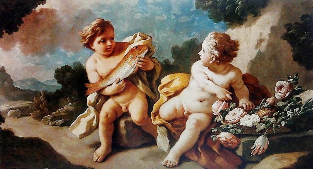 Francesco de Mura - Allegory of the power of love
