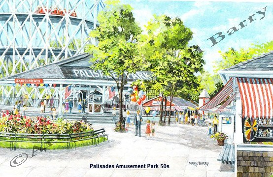 Palisades Amusement Park 50s