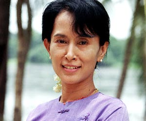 Aung San Suu Kyi Biography(3photos):news,school girl