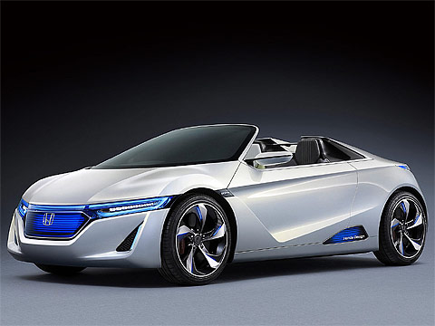 Motor Trend: Japanese car photos 2011 HONDA EV-Ster Concept