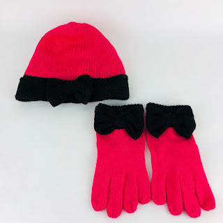 Kate Spade Knit Hat & Gloves Set