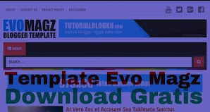 Template Evo Magz Gratis Download