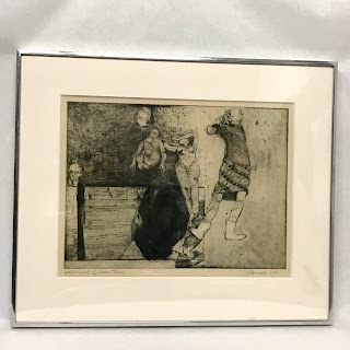 Chapsadelle Signed Etching