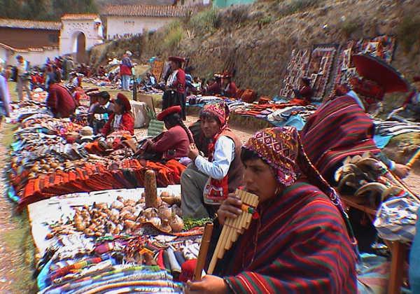 Valle Sagrado de los Incas Cusco pueblo Chinchero
