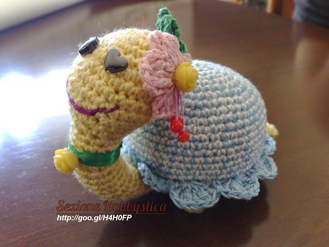 Amigurumi Tutorial Ita : Lumaca o tartaruga? :D Sezione Hobbystica Lumaca o ...
