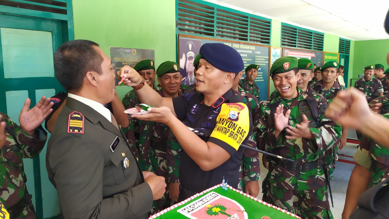 Begini Caranya Danyon C Pelopor Peringati HUT TNI ke 74