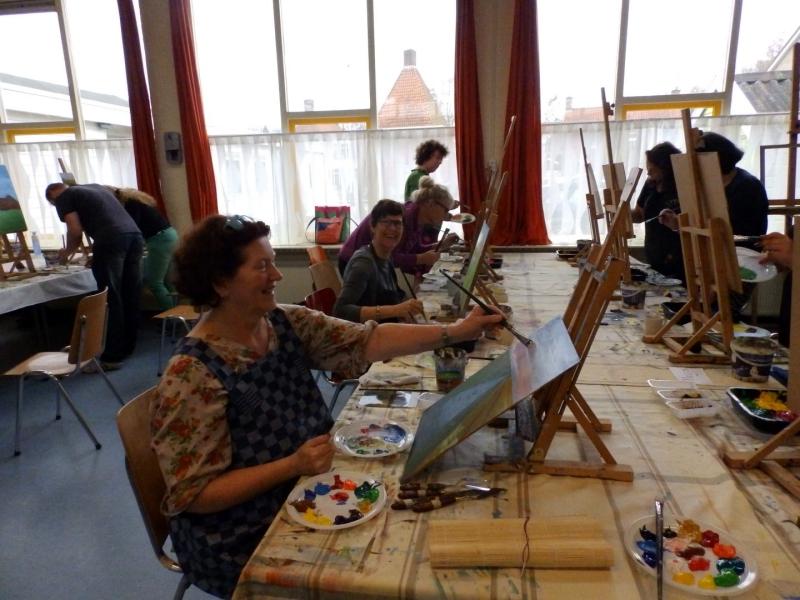 Workshopprogramma van Galerie Het Raadhuis