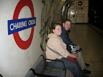 Susan and Jeff at the Charing Cross tube station