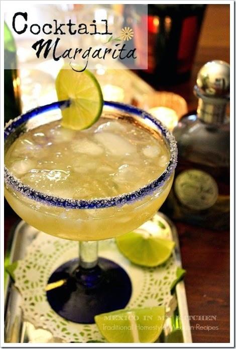 Cocktail Margarita | cinco de mayo recipes