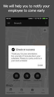 Pin Checkpoint - Attendance Based on Geolocation - náhled