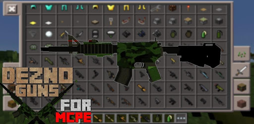 Dezno Guns MOD for MCPE for PC
