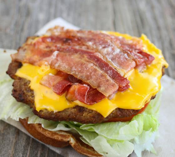 Carl's Jr. Super Bacon Cheeseburger