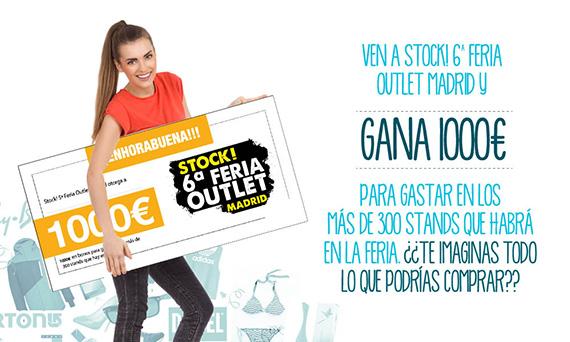 Stock! 6ª Feria Outlet Madrid, del 16 al 18 de octubre 2015