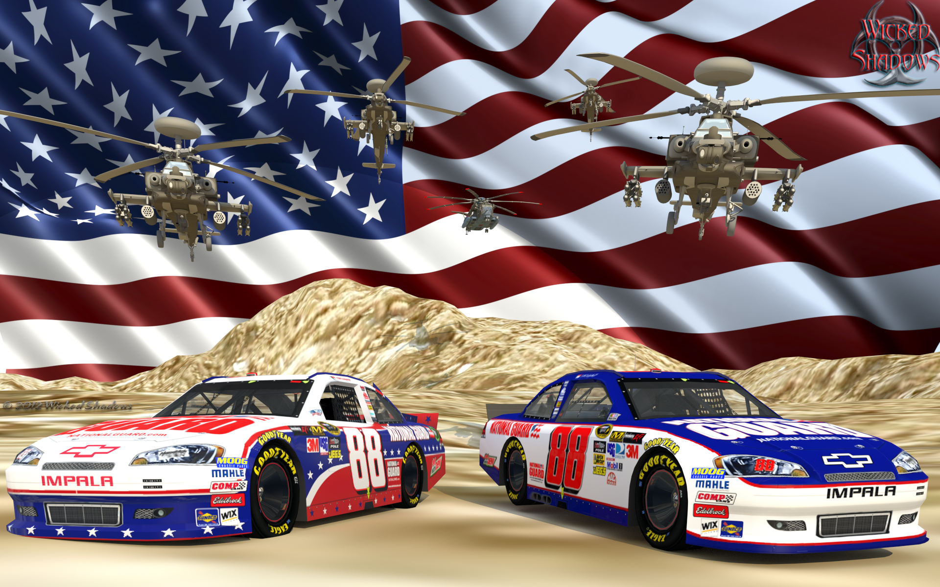 wallpapers by wicked shadows dale earnhardt jr nascar