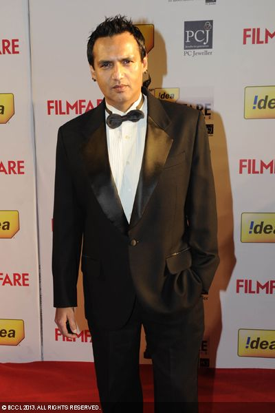Marc Robinson looks dapper in a tuxedo at the red carpet of 58th Idea Filmfare Awards 2013, held at Yash Raj Films Studios in Mumbai.Click here for:<br />  58th Idea Filmfare Awards